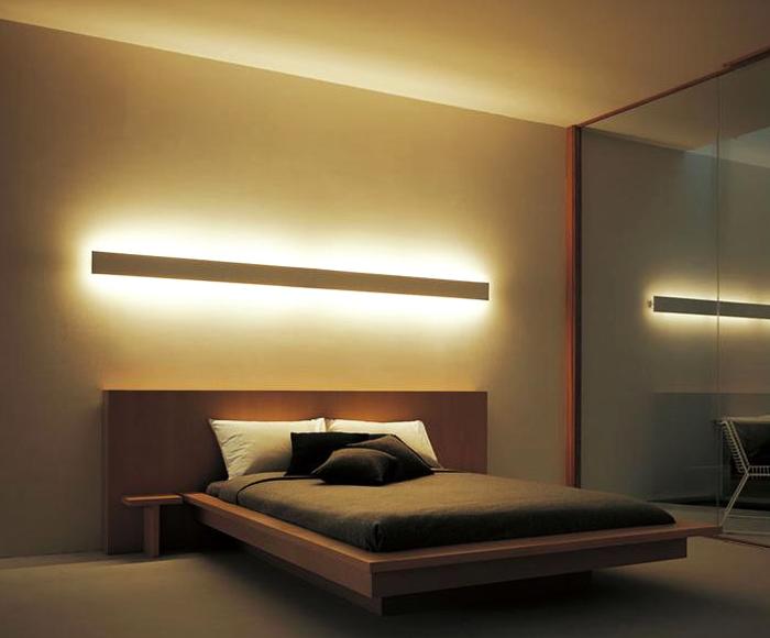 Led - Wandbeleuchtung schlafzimmer ...